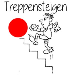 Treppenlaufen Foto