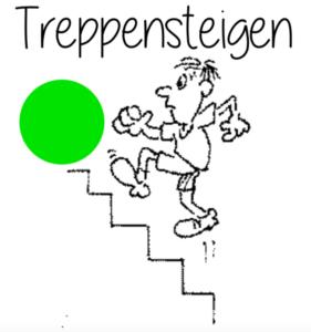 Treppenlaufen gr Foto